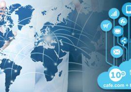 10 Café.com +Tecnologia: Internacionalização